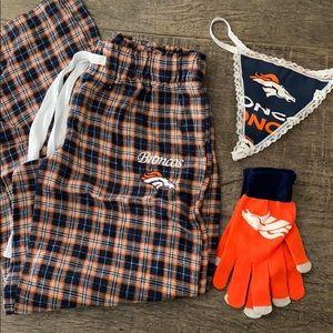 Denver Broncos lot